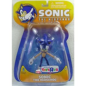 Sonic the Hedgehog Exclusive 5 Inch Action Figure Sonic The Hedgehog 8 Points of Articulation!