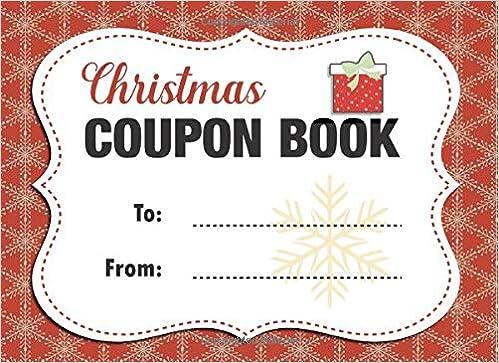 christmas coupon book customizable christmas gift for friends