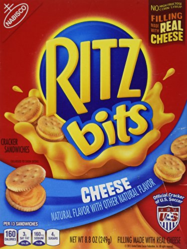 Ritz Bits Sandwiches - Nabisco Ritz Bits Cracker Sandwiches Cheese 8.8oz
