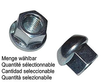 MENGE w/ählbar Menge:10 ST/ÜCK Kugelbundmutter M14 x 1,5 DIN 74361-8 A verzinkt Radmutter