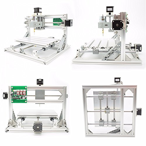 2-in-1 DIY CNC 2418 3 Axis CNC Router Kit + 2500mw Laser