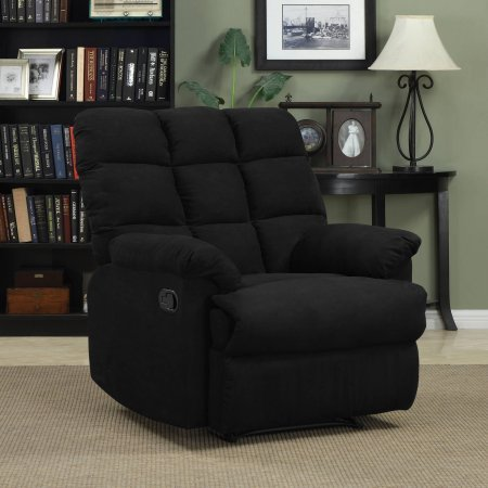 ProLounger Wall Hugger Microfiber Biscuit Back Recliner Chair | 37.75