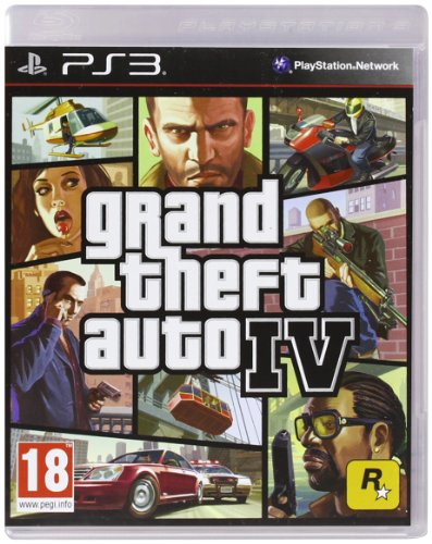 Grand Theft Auto 4(PS3) (Grand Auto 4 Ps3 Theft)