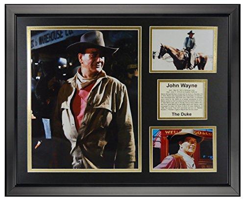 Legends Never Die John Wayne - Color Framed Photo Collage, 16