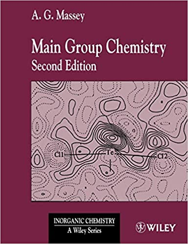Main Group Chemistry: A  G  Massey: 9780471490395: Books