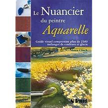 Le nuancier du peintre - Aquarelle