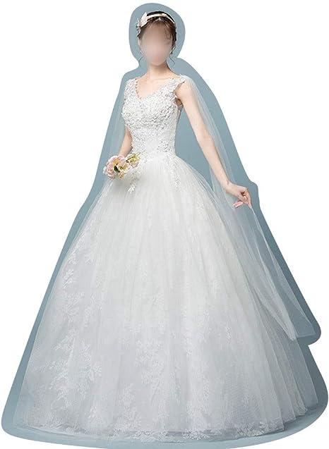 Vestido de Mujer Vestidos de Novia de esbelta Princesa Falda ...