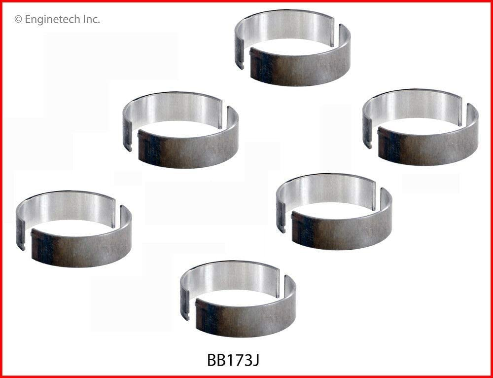 INC. TURBO SIZE-STD ENGINETECH BB173J CONNECTING ROD BEARINGS compatible with FORD MAZDA 213 3.5L 227 3.7L DOHC V6 24-VALVE