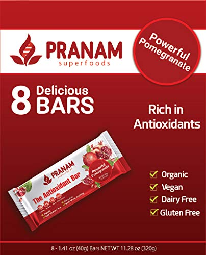 Powerful Pomegranate Antioxidant Bar (8 Count)