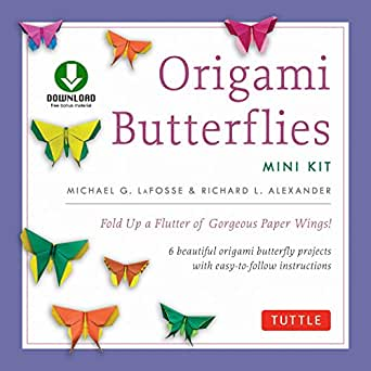 Origami Butterfly Instructions Easy - All About Craft | 342x342