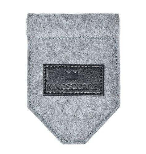 Kingsquare Pocket Square Holder - Men's Suit/Blazer/Coat Pocket Square Keeper by KING (Image #3)