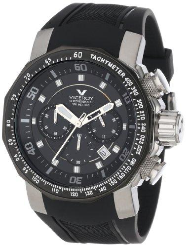 Viceroy 47659-58 - Reloj de Pulsera Hombre, Caucho, Color Negro: Amazon.es: Relojes