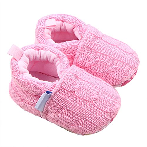 ❤️ Mealeaf ❤️ Toddler Infant Baby Boys Girls Shoes Winter Warm First Walkers Walking Shoes Anti-Slip Soft Slippers 0-3t