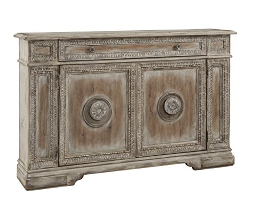 Sideboard Buffet Chest - Pulaski PFC Accents Credenza Chests 60W x 13D x 38H-Inch, Light - Wood Finish