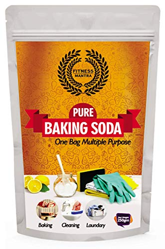 Fitness Mantra Baking Soda Pouch, 250 g