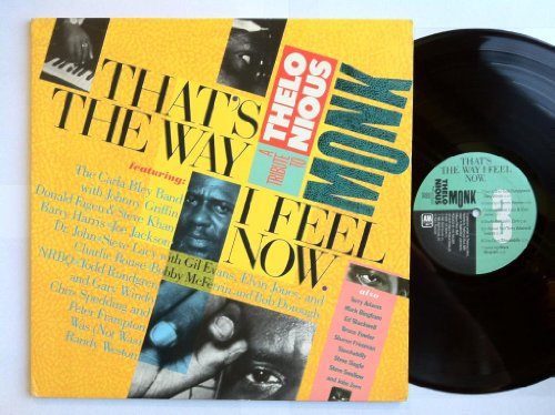 Price comparison product image That's The Way I Feel Now: A Tribute To Thelonious Monk LP - A&M - SP-6600