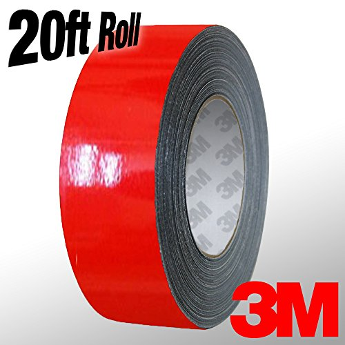 3m auto pin striping red - 2