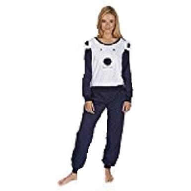 Ladies Long Sleeve  PJs 100/% Cotton Jersey Pyjamas   8-26