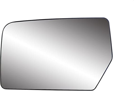 New Replacement Driver Side Mirror Heated Glass With Backing Compatible With 2007-2011 Ford Expedition 2007-2012 Lincoln Navigator Sold By Rugged TUFF