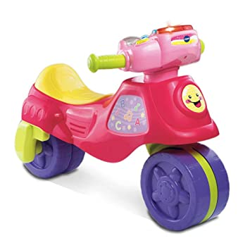Amazon.com: VTech 2 en 1 Aprender y Zoom Motor Bike, Rosa ...