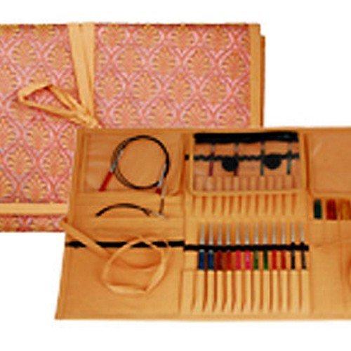 Knitter's Pride Orient Sheen Multi Needle & Accessories Fabric Case 800129