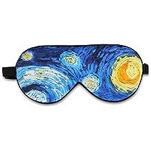 ALASKA BEAR® Natural silk sleep mask & blindfold, super-smooth eye mask (Starry Night)