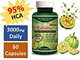 3000mg Daily GARCINIA CAMBOGIA Capsules HCA 95% THERMOGENIC Weight Loss Diet