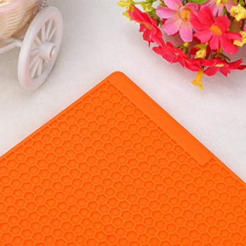 Mandy Kitchen Table Pad Tools Silicone Pot Holder Trivet Mat Heat Resistant by Mandy (Image #1)