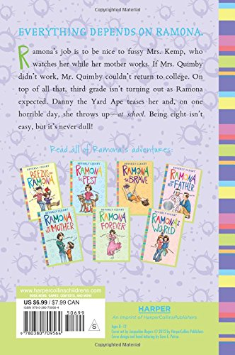 Ramona quimby age 8 beverly cleary jacqueline rogers ramona quimby age 8 beverly cleary jacqueline rogers 9780380709564 amazon books fandeluxe Gallery