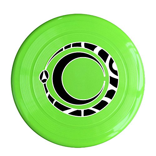 [XJBD Unisex Clipart Ouroboros And Moon Outdoor Game, Sport, Flying Discs,Game Room, Light Up Flying, Sport Disc ,Flyer Frisbee,Ultra Star KellyGreen One] (Gaga Dance Costumes)