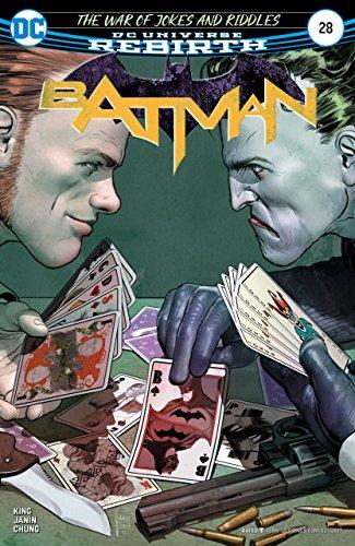 Batman (2016) #28 VF/NM Mikel Janin Cover DC Universe Rebirth