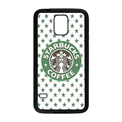 Samsung Galaxy S5 Case TPU Starbucks Wallpaper Tumblr Cell Phone Black For
