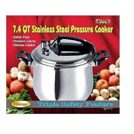 Amazon.com: Bene Casa olla de presión 7.4 qt: Kitchen & Dining