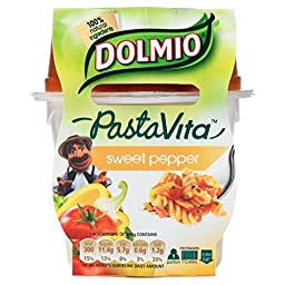 Dolmio Pasta Vita - Sweet Pepper (300g) - Pack of 2