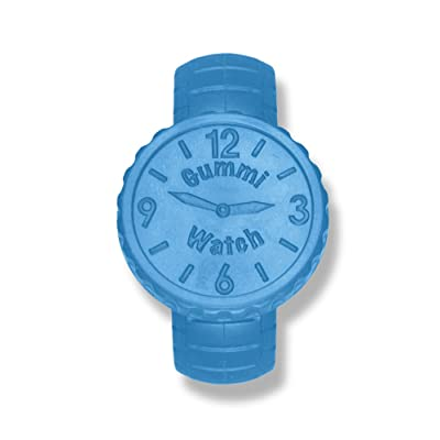 KidKusion Gummi Teething Watch, Blue : Baby
