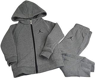 Nike Babys - Jordan Jumpman JSW Wings Fleece Track Suit - Grey - 654613-GEH