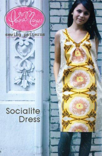 Anna Maria Horner Socialite Dress AMH-003SD by Anna Maria Horner