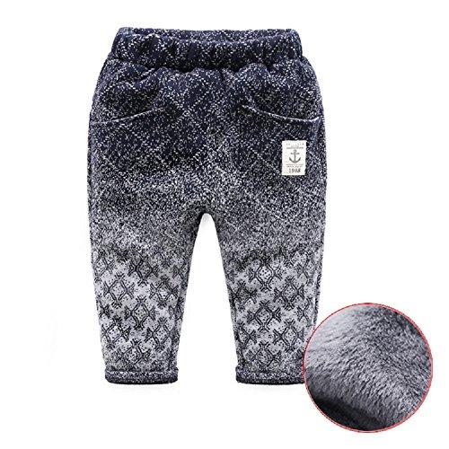 - Mud Kingdom Boys Winter Pants Warm Fleece Lining 6-7T Light Gray