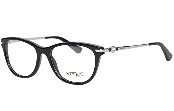 d5129ade95f Image Unavailable. Image not available for. Colour  Vogue Standard Cat Eye  Eye Frame ...