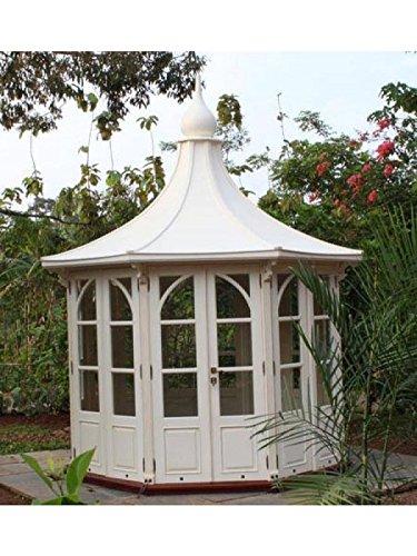 Gazebo In Legno Bianco.Giardino Casa Leeds Gazebo In Legno Di Mogano Casa Dispositivo