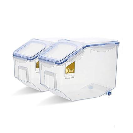 Caja De Almacenamiento De Harina De Grano Grande Caja De Almacenamiento De  Cocina Caja De Almacenamiento b57133948ce