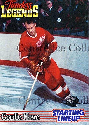 (CI) Gordie Howe Hockey Card 1996 Kenner Starting Lineup Cards Timeless Legends 1 Gordie Howe ()