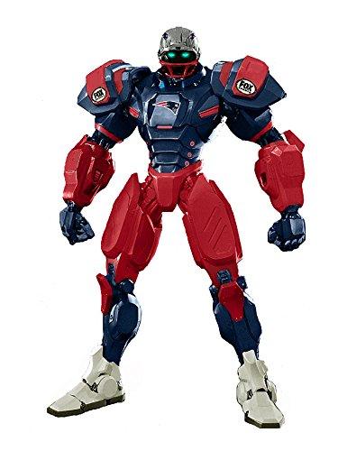 "New England Patriots 10"" Team Cleatus FOX Robot NFL Football Action Figure Version 2.0"
