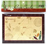 5 x7 recipe cards - MBI 5x7 Inch Additional Recipe Cards (25pk), Family (899855)