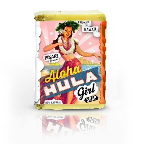 Aloha Hula Girl BAR SOAP Pikake Coconut Shea Butter Jasmine Vanilla NATURAL Girl Shopper