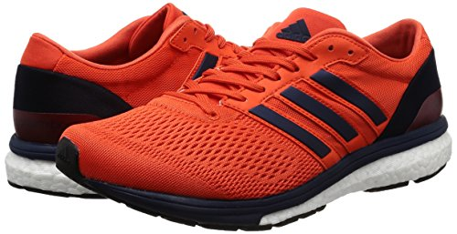 Adidas Adizero Boston 6m-Chaussures de Course pour Homme, Orange-(Energi/maruni/buruni) 40