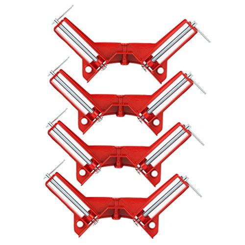 Yaetek 4PCS 90 Degree Right Angle Miter Corner Clamp 3