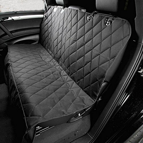 Peicees Deluxe Pet Car Seat Cover Black for Dog with Durable Seat Anchors for Cars Trucks SUV'S Review