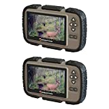 Stealth Cam CRV43 4.3'' LCD Screen Game Photo Viewer & SD Card Reader (2 Pack)