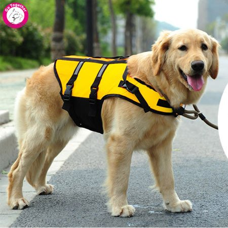 Bosun(TM) Pet Puppy Safety Swimming Clothes Dog Life Jacket Vest Durable Oxford Summer Dog Swimwear